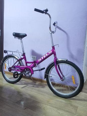 Фирменный российский складной велосипед STELS