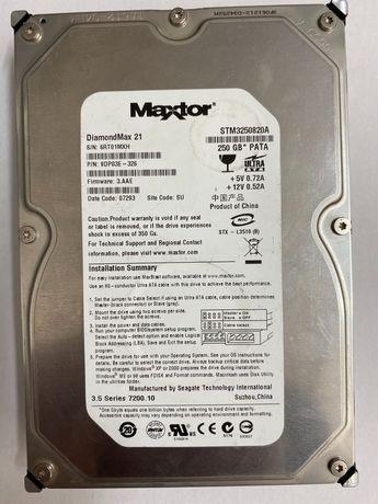 Hdd , hard disc , 250 gb. Maxtor