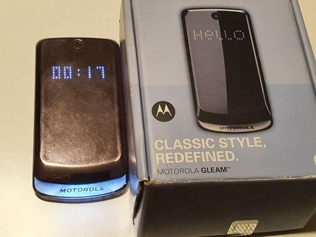 Telefon Motorola Gleam - pt colecție, cutie,funcțional dar cu problema