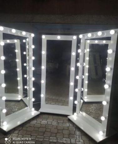 Шикарные зеркала с подсветкой. Гримерные зеркала. Костанай