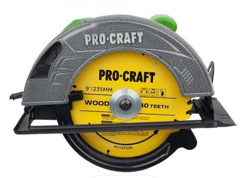 Circular fierastrau electric de mana Procraft KR2830, 2.8 kW, 235 mm
