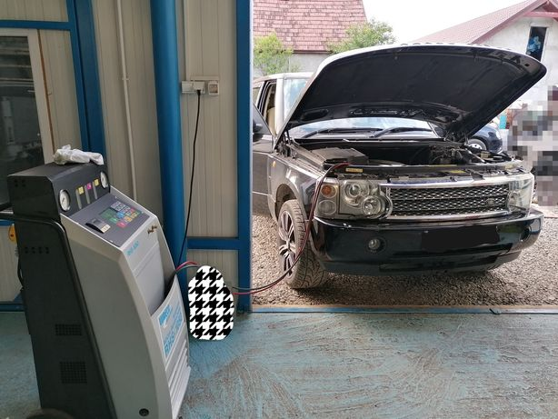reparatii aer conditionat auto si industrial incarcare freon