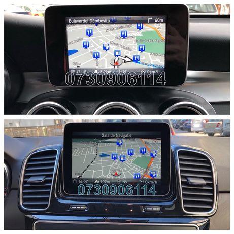 Card Harti Mercedes Garmin A B C CLA CLS E GL GLC GLE Navigatie 2020