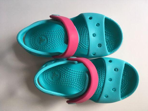 Sandale Crocs, nr C7, impecabile, o singura purtate