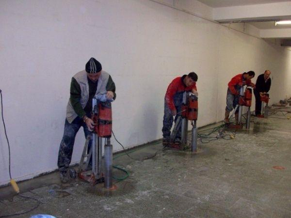 Алмазное сверление бурение отбойник препоратор бетон кирпич шлокоблок