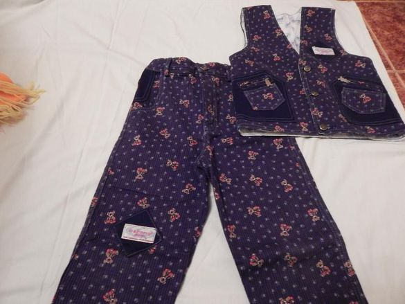Гъзарски панталон с елек -5 год.