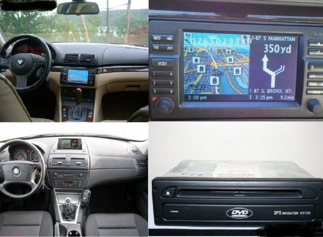 DVD navigatie BMW X3 / seria 7 / seria 3 - Romania / Europa 2020