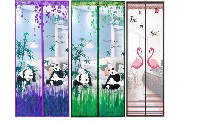 Plasa anti insecte cu model: flamingo, fluturi sau panda