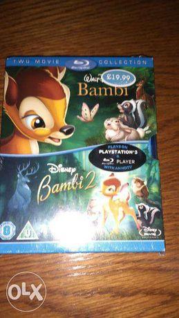 Doua cd-uri pentru plystation 3 Bambi 2 noi nedesfacute