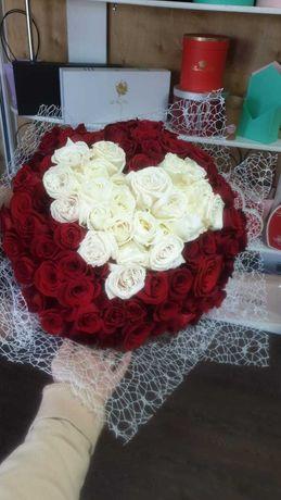 Розы Цветы Букеты