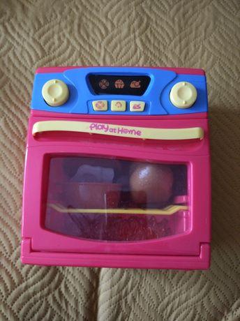 Детски играчки - печка, касов апарат, медицински комплект и плодове