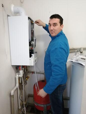 Instalatii termice si sanitare complete, incalzire in pardoseala