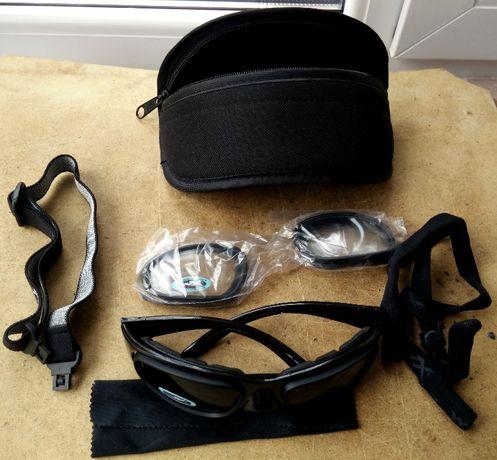 Ochelari Balistici, sport , moto, airsoft Wiley X SG-1 Smoke/Clear