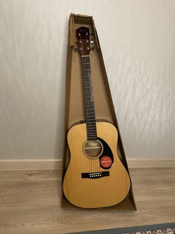 Гитара Fender CD-60S-Nat с аксессуарами