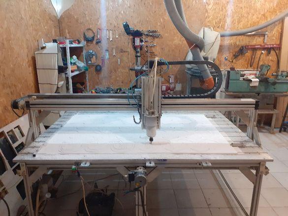 CNC router CNC рутер ЦНЦ фреза перфектна машина от алуминиеви констру