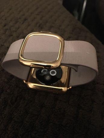Ceas Apple Watch Luxury Gold,placat cu aur!