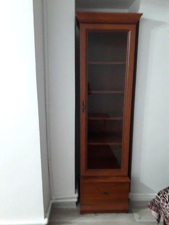 Мебель горка для гостиной комнаты цвет коричневый