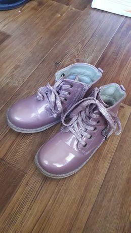 Ботинки осенние для девочки 4-6 лет
