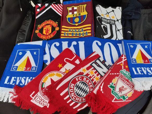 Шалчета на Футболни отбори: 2021г Левски,цска, реал, барса, МЮ, Юве