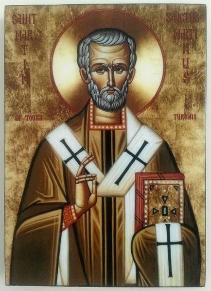 Икона на Свети Мартин icona Sveti Martin гр. Пловдив - image 1