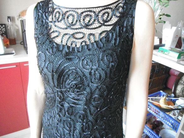 Черна официална рокля и две чанти