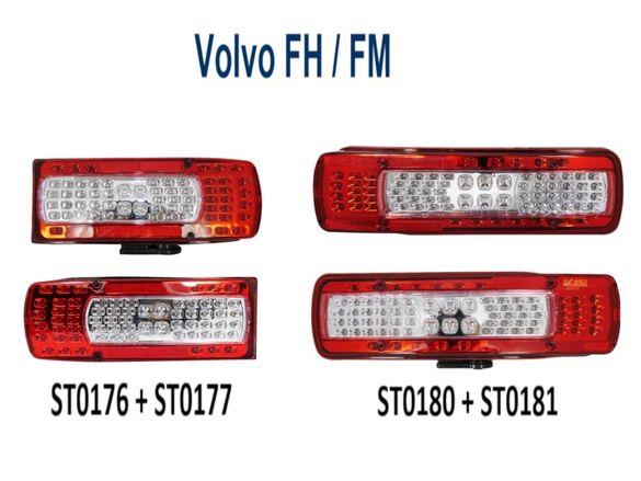 Лед Led Стопове Стоп за Влекач Камион Волво Volvo FH / FM след 2012г