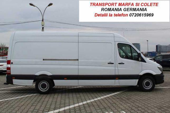 Transport marfa Romania-Germania