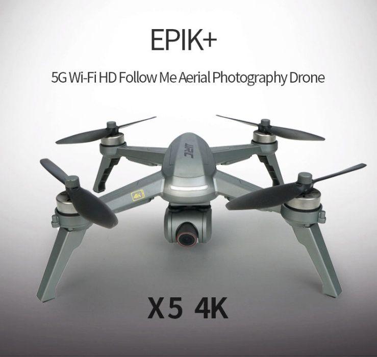Селфи Дрон JJRC JJPro X5 Epic PLUS с 4K WI-FI Камера и GPS