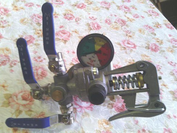 Кран-реголатор за навесна пръскачка