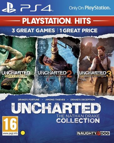 Uncharted: The Nathan Drake Collection/ PS4 / Игра / Нова /