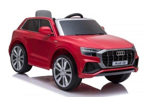Masinuta electrica pentru copii Audi Q8 STANDARD 12V #Rosu