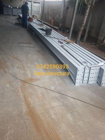 Vand hală de producție metalică 10x38