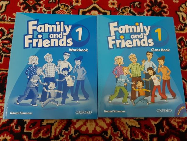 Новая книга Family and friends 1