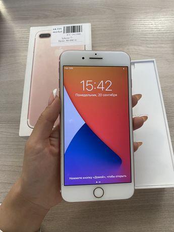 Iphone 7+, розовый