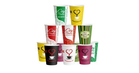 Картонени чаши за вендинг автомати Vending