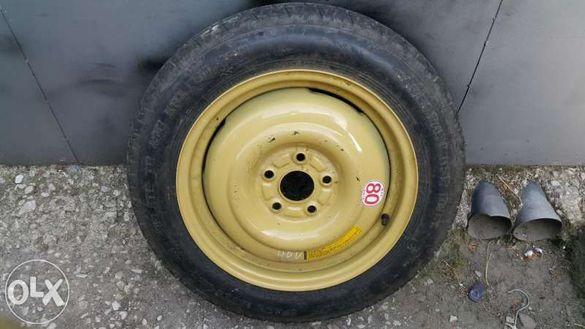 резервна гума патерица 16, 17 и 18цола 5х114.3 за хонда, мазда, нисан