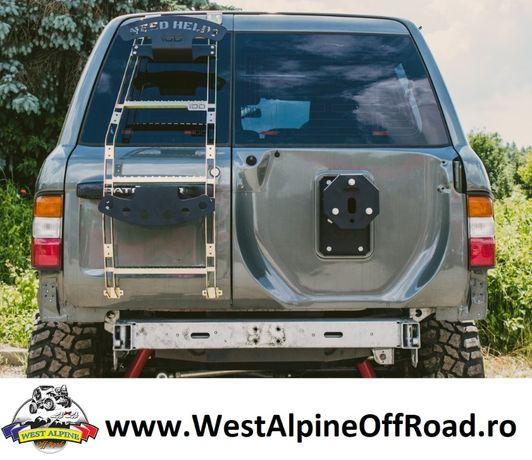 Suport Roata De Rezerva ajustabil usa spate Nissan Patrol Y60 Y61 GU4