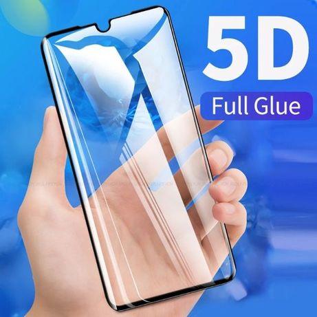 5D ЦЯЛО ЛЕПИЛО Стъклен протектор Huawei P30 / P30 Lite / Mate 30 Lite