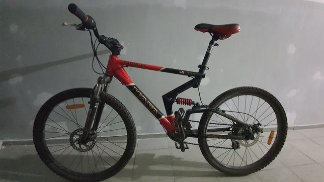 Продам велосипед MTB HASA двухподвес