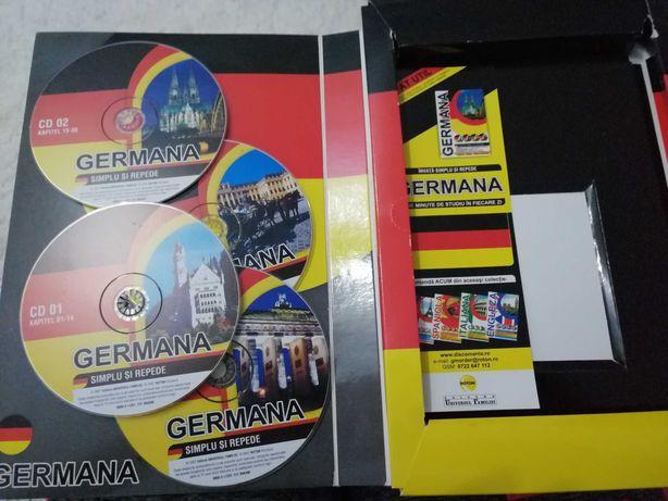 Vând curs limba germana