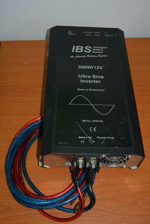 IBS Ultra Sine инвертор пълна синусоида 500W