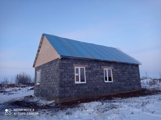 Дом 6х10 керамзит черновой вариант