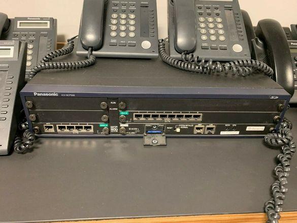 Телефонна централа Panasonic KX-NCP 500 в отлично състояние