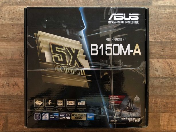 Placa de baza Asus B150M-A