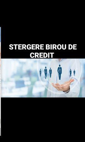 Servicii de ștergere din biroul de credit
