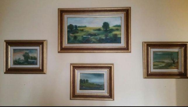Vand tablouri 1983 - VÂNDUT(de vânzare doar tabloul mic din stânga)