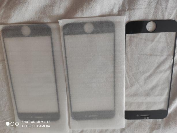 3 folii protecție iPhone 7