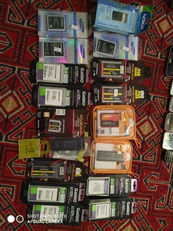 Батарейки новые и стекла на некоторые модели