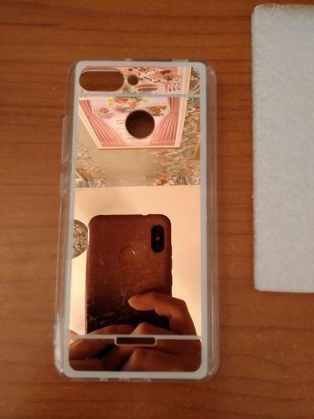 Чехол зеркальный на Xiaomi Redmi 6