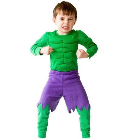 Костюм на Хълк с мускули,детски костюм хълк,костюми хълк